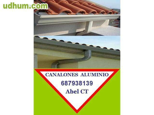 Canalones aluminio alicante 687938139 1 for Canalon de aluminio