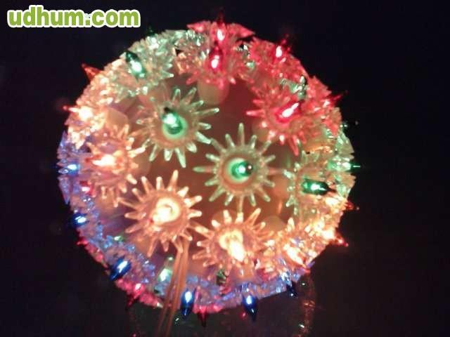 Bola grande de navidad de 140 luces - Bolas de navidad grandes ...