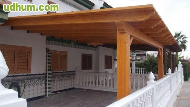 Pergolas de madera y decoracion ecologia - Como hacer una pergola de hierro ...