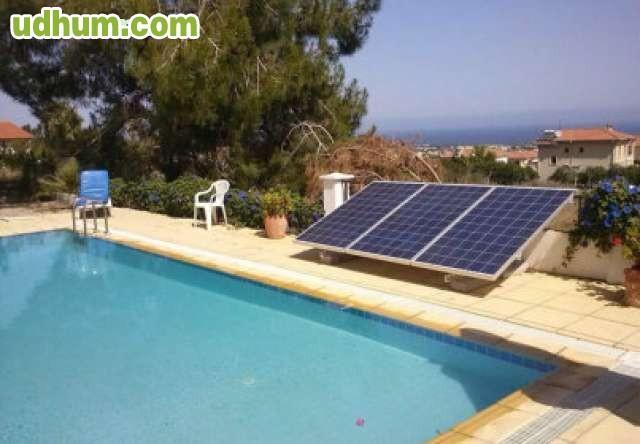 bombeo solar piscina y pozo sondeo