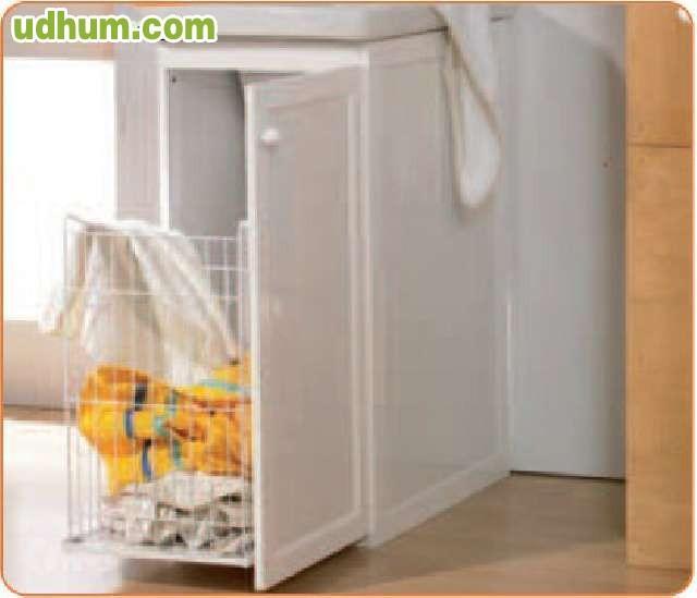 Mueble aluminio con cesto ropa p 488 - Milanuncios muebles valladolid ...