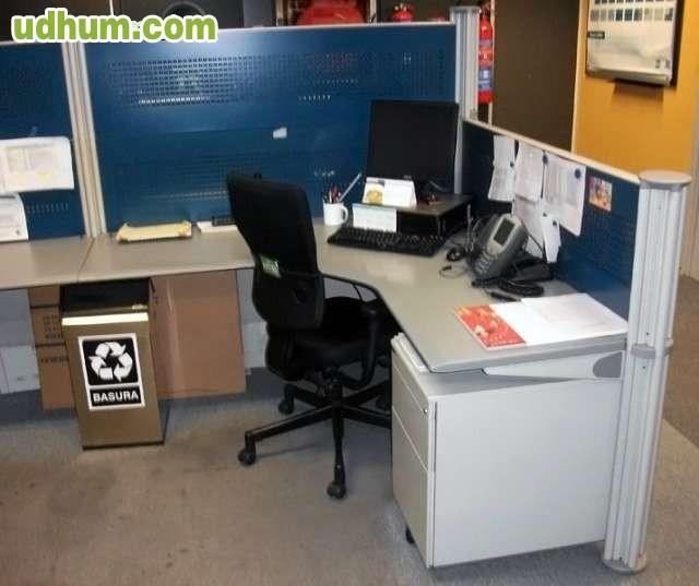 Mamparas separadoras de oficina madrid 1 for Oficina de transporte madrid
