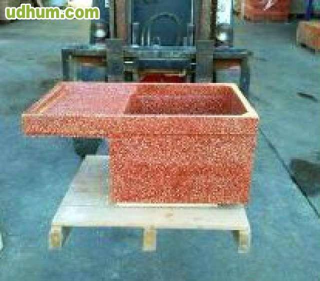 Lavaderos de granito pulidos for Lavadero de granito