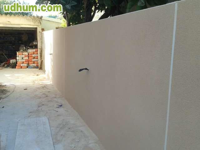 Hormigon estampado muros - Muros de pladur ...