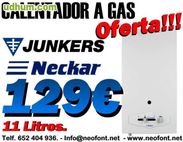 Calentador junkers 11 litros 129 - Fontaneros en elche ...