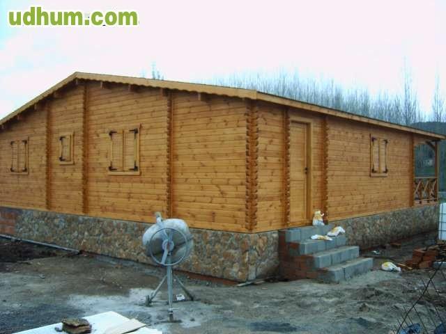 Casa de madera modelo jaen - Maderas moral jaen ...