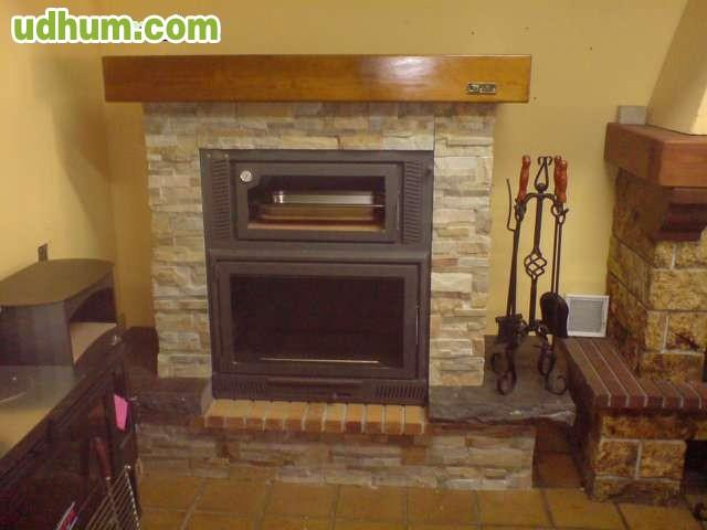 Fabricantes chimeneas estufas le a for Decoracion chimeneas de lena