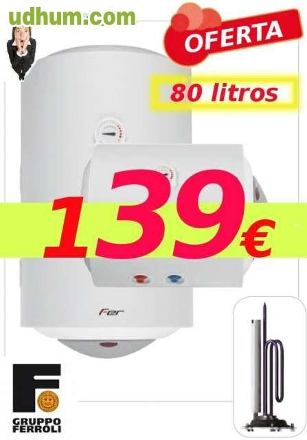 Termo electrico grupo ferroli 80 litros - Termo electrico oferta ...