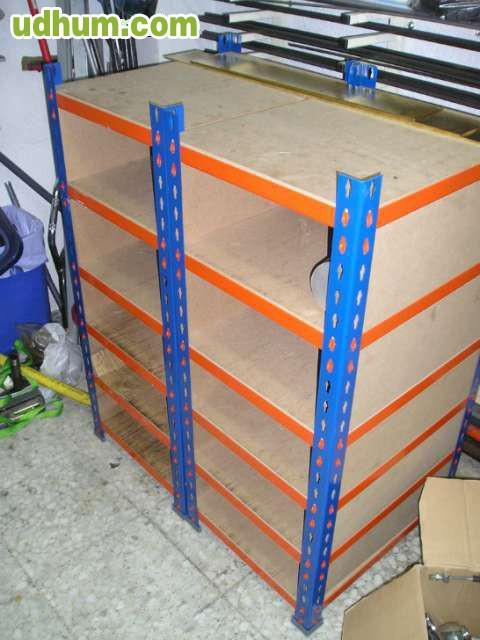 Estanter as met licas alta resistencia 1 for Estanterias metalicas 3 metros