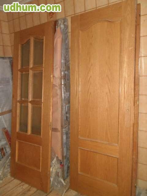 Puertas de madera roble sapeli casta o - Puertas de castano ...