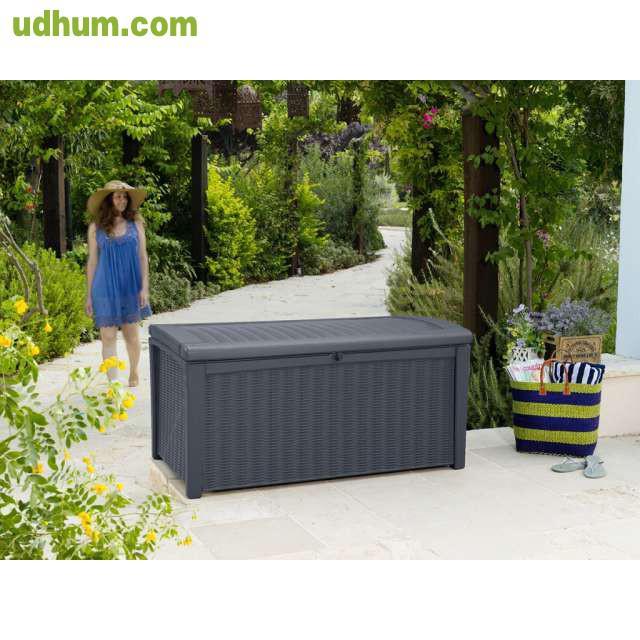 Cor baul de almacenaje para exterior ket for Almacenaje de jardin