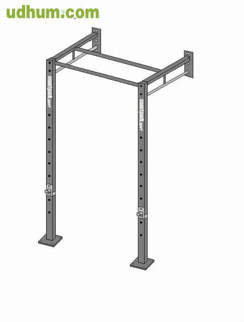 Rack jaula barras crossfit modular for Fabricacion de bares de madera