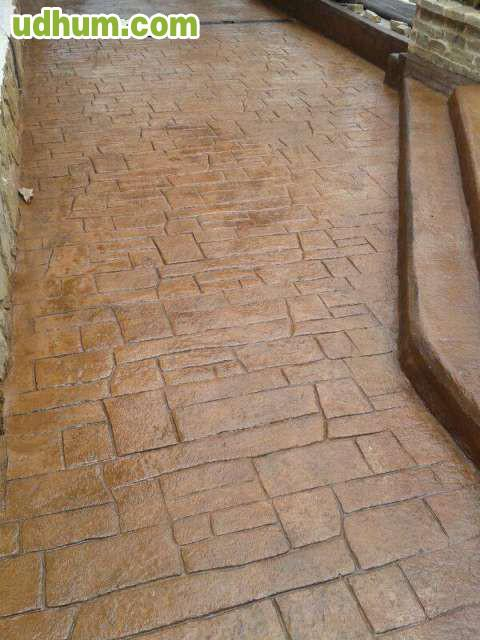 Pavimento hormigon impreso y fratasado Pavimento hormigon pulido