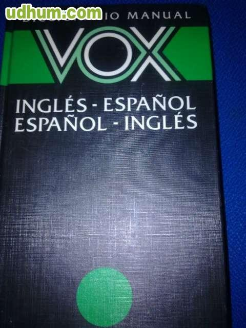DICCIONARIO VOX INGLES