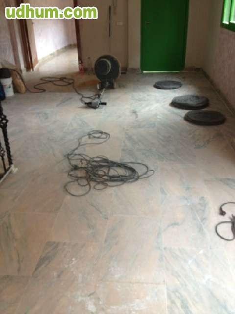 Pulidor d marmol con maquinas propias - Abrillantador de suelos ...