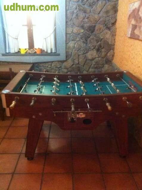 Futbolines y bilares en asturias - Futbolines para casa ...
