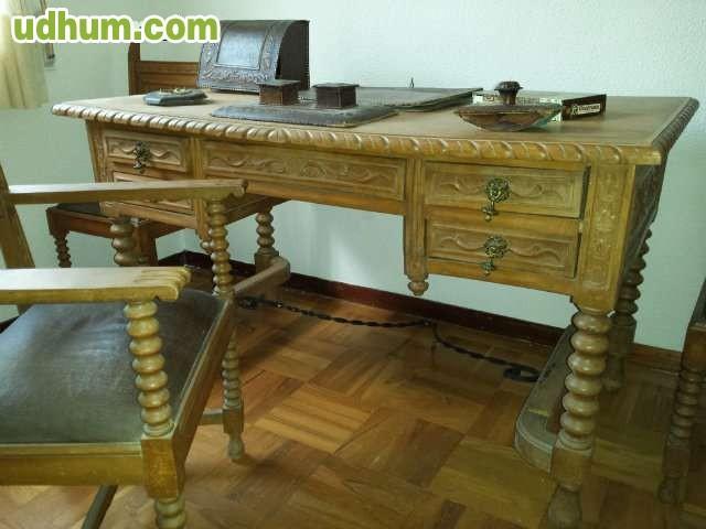 Muebles de despacho antiguos tallados for Muebles para despacho