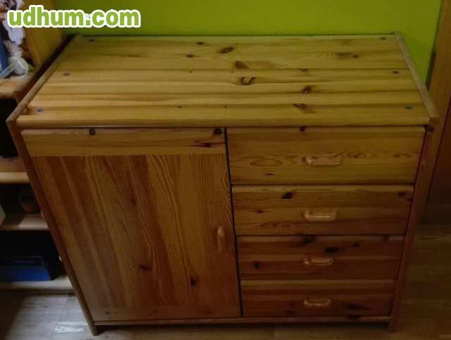 Muebles de habitaci n en madera de pino - Muebles en madera de pino ...