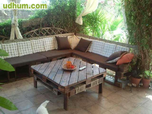 Muebles de palets econ micos paletsur for Montador de muebles economico