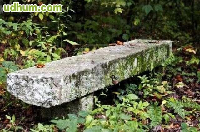 Bancos de piedra 1 for Bancos de granito para jardin