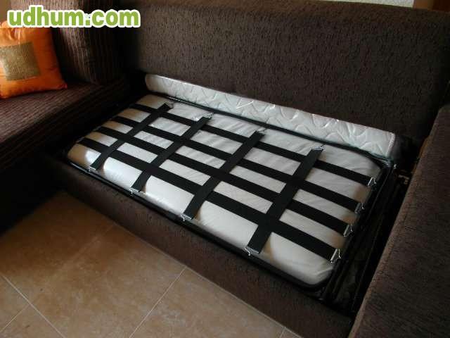 Sof cama con cheslong for Sofa cama cheslong