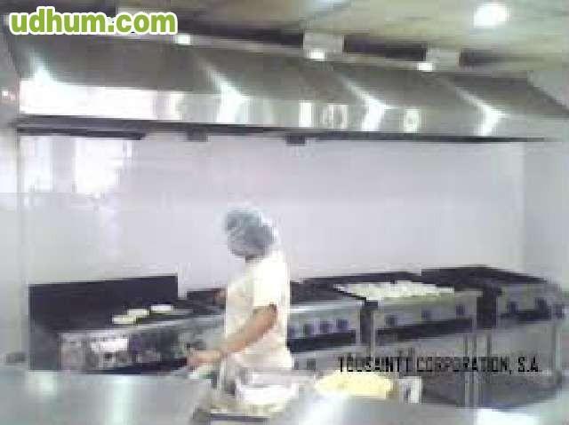 Campanas extractoras de humo - Extractor humos cocina ...