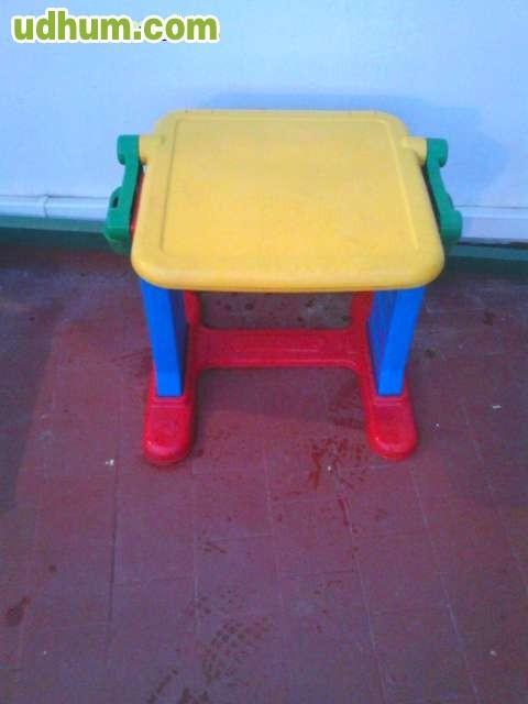 Mesa convertible en pizarra - Banco convertible en mesa ...