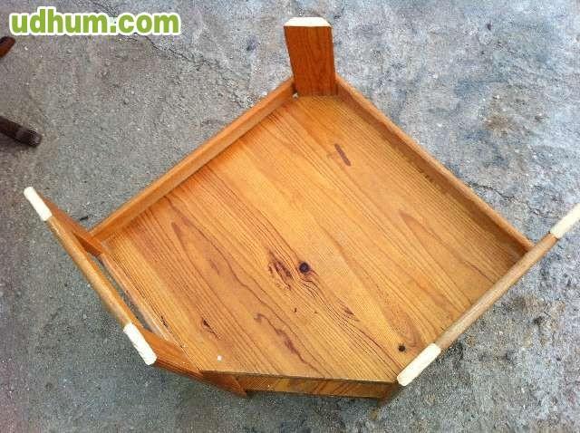 Estanteria esquinera de madera pino for Mueble 55 cm ancho