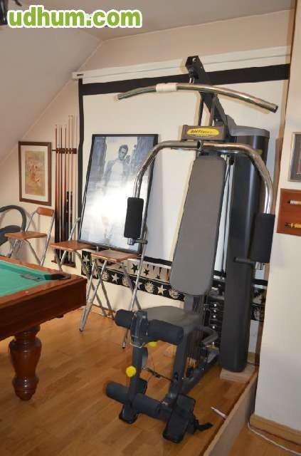 Maquina de musculaci n multifunci n bh for Maquinas de musculacion
