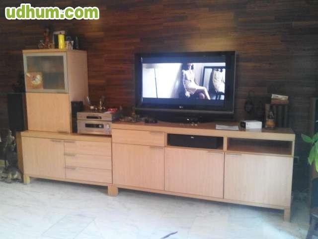 Conjunto de mueble salon mesa y sillas - Conjunto muebles salon ...