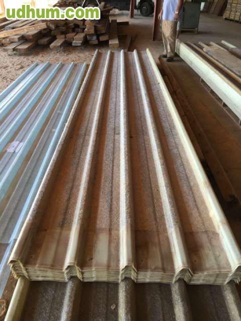 Chapas de plastico de tejado de 7 metros 1 for Plastico para tejados