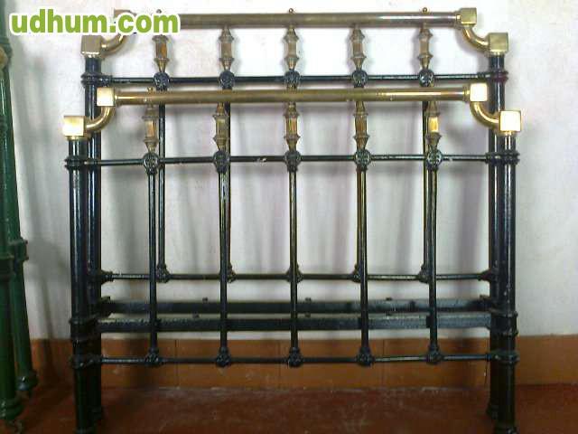Camas antiguas madera hierro medidas - Camas de forja antiguas ...