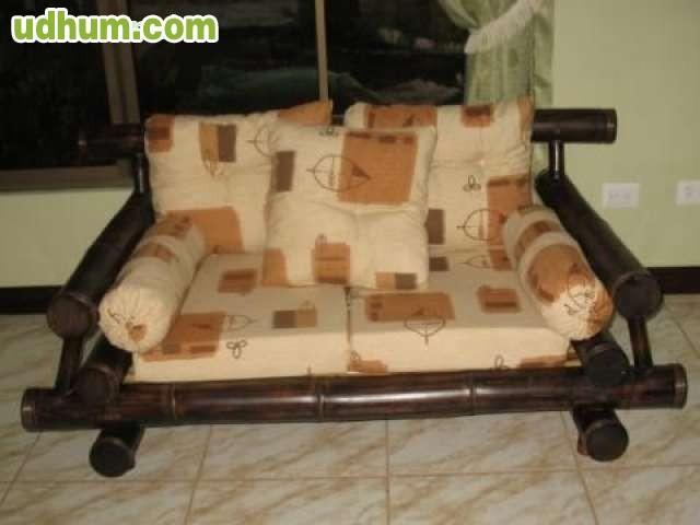 Camas bambu bajo pedido - Muebles en bambu ...