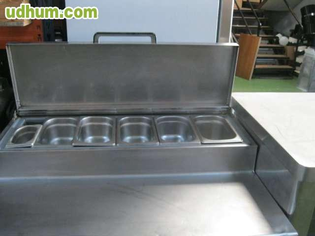 Ocasi n mesa fr a con portaingredientes - Mesa fria ingredientes ...