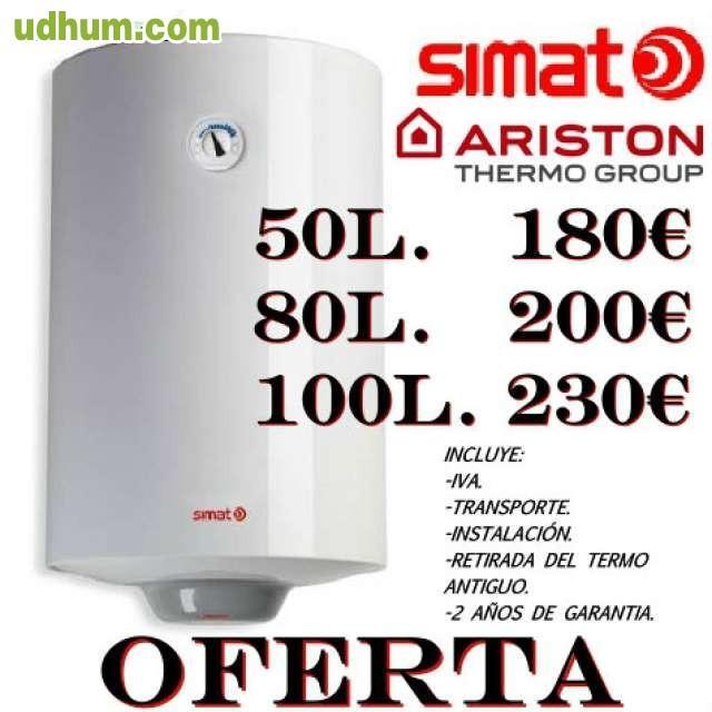 Termo electrico ariston instalado 180 - Termo electrico oferta ...