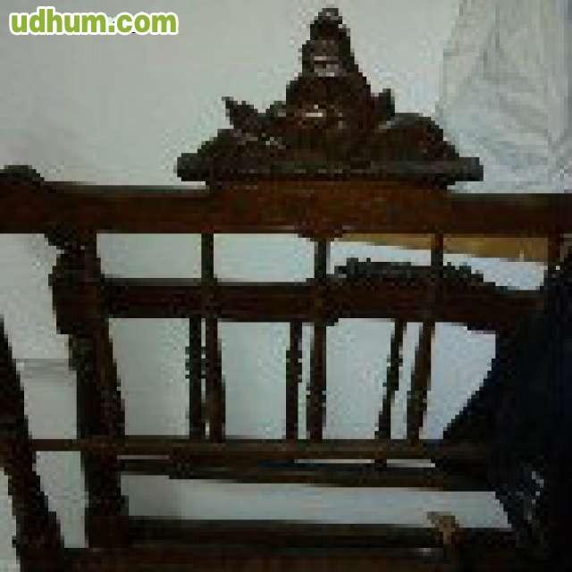 Cama antigua 17 - Cama antigua de madera ...