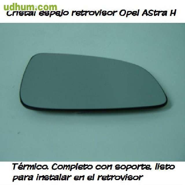 Cristal espejo retrovisor opel astra h for Espejo opel astra