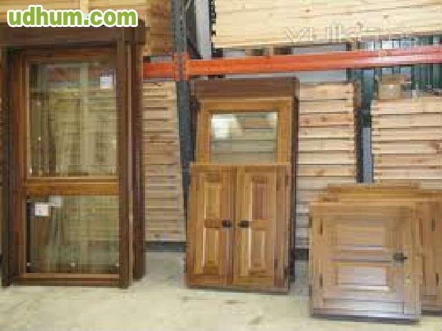 Puertas y ventanas de madera fabrica - Persianas para balcones ...