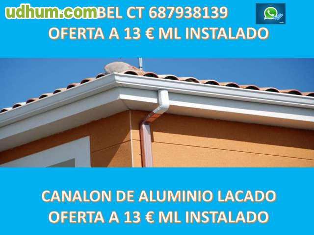 Canalones de aluminio murcia 687938139 2 for Canalon de aluminio