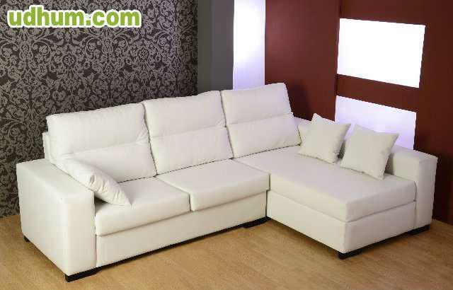 Sofa cheslonge ecopiel 399 - Muebles miguelturra ...