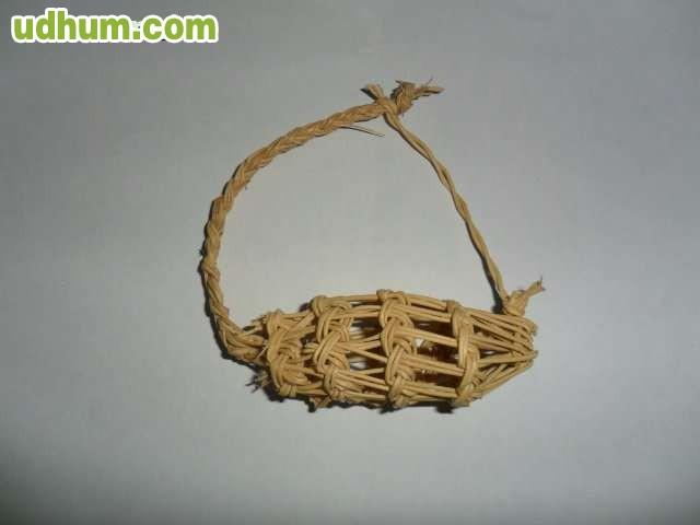 Magnifica cesta de esparto - Cestas de esparto ...