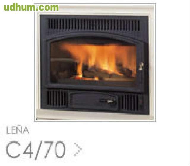 Estufa insert hergom c4 70 - Milanuncios chimeneas de hierro ...