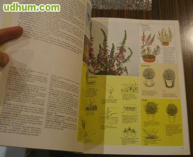 Lote de libros de flores jardineria y - Libros sobre jardineria ...
