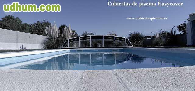Cubiertas de piscina telesc picas precio Cubierta piscina precio