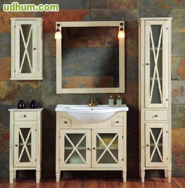 Mueble de ba o estilo r stico 1 for Muebles estilo rustico