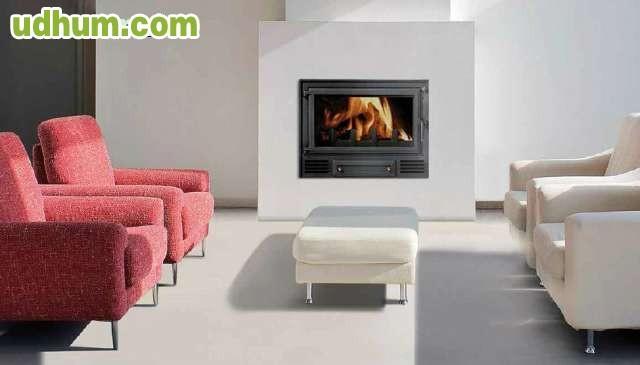 Chimenea calefactora de 29 5 kw for Chimenea calefactora