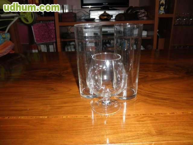 Lote de vasos y copas for Copas y vasos para bar