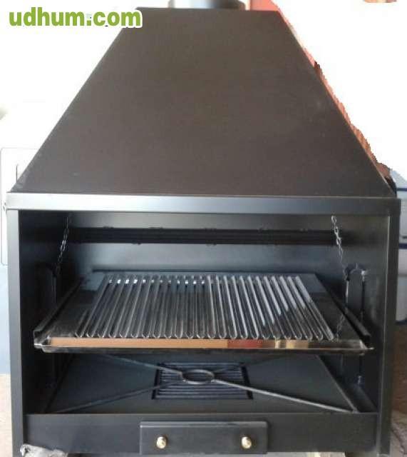 Barbacoas y hornos metalicos de le a - Hornos de lena metalicos ...