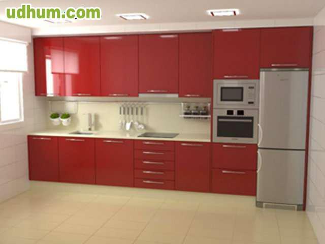 Oferta muebles de cocina frente 4 metros 1 for Cocinas lineales de cuatro metros