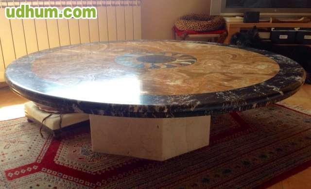 Mesa de dise o m rmol travertino - Mesa de marmol travertino ...